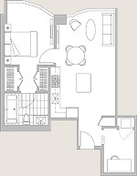 Featured Residence #804 Floor Plan