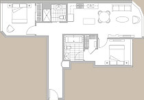 Featured Residence #818 Floor Plan